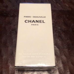 Chanel hair and body shower gel